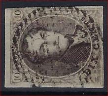Medaillon 10 Cent Met (m.i.) ZELDZAME Distributiestempel D10 Van CAPELLE - AU - BOIS  ! Inzet Aan 5 Euro ! - Belgium