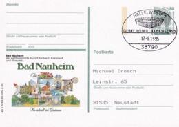 Germany 1995 Card: Tennis; Gerry Weber Open 1995; Halle; Bad Neuheim Health; Medicine Heart Rheuma - Tennis