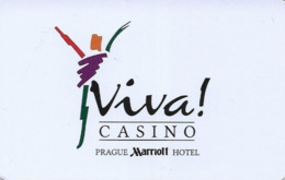 REPUBBLICA CECA KEY CASINO  Viva Casino - PRAGA - Cartes De Casino