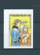 Timbre Non Dentelé Numéroté (n° 385) BD Luc Orient 3010 Cote 75 € - Belgien