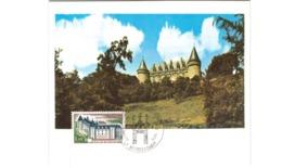 Carte / Rochechouart   / Janvier 1975 - Cartoline Maximum
