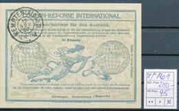 BAYERN / KEMPTEN  -  13 NOV 07  ,  Ro1  ,  25 Pfennig -  Reply Coupon Réponse , Antwortschein , IAS - Bavière
