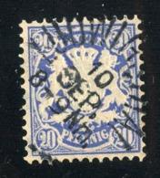 GS 1310 Bavaria 1881 Mi.#50 (o)  (cat. 1.€) - Bayern