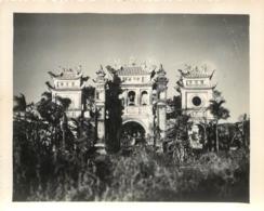 HANOI PHOTO ORIGINALE 1949  UNE PAGODE  FORMAT 13.50 X 11 CM - Vietnam