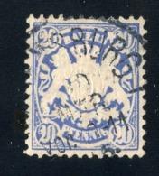 GS 1312 Bavaria 1881 Mi.#50 (o)  (cat. 1.€) - Bayern
