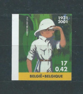Timbre Non Dentelé Numéroté (n° 989) BD Tintin 3048 Cote 325 € - Belgien