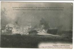 Grève Des Dockers Anvers - Le Brasier Au Ferdinandus Polder - Uitg. J.B. Verhoeven / G. Hermans -  2 Scans - Antwerpen