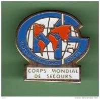 CORPS MONDIAL DE SECOURS *** 1067 - Bomberos