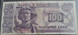 ALBANIE 100 LEKE - Albania