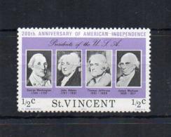 Gran Bretagna - (Vecchie Colonie E Protettorati - ST. VINCENT) - 1975 - Nuovo - Linguellato * - (FDC17926) - St.Vincent (...-1979)