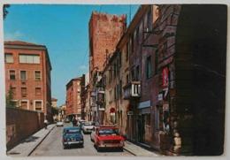 ROVIGO - Porta Sant'Agostino E Vecchie Mura - Auto, Cars, Fiat 850, Fiat 124, Alfa Romeo Giulietta, Fiat 500 - Vg V2 - Rovigo