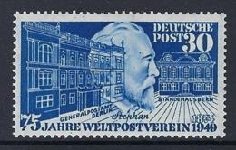 GERMANY BIZONE 1949 UPU Nº 82 - Bizone