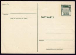 Germany Lorsch Hessen Postal Stationery Postcard Postkarte / Green 20 Pf - [7] République Fédérale