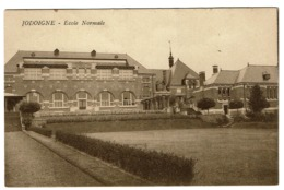 Jodoigne - Ecole Normale - 1932 - 2 Scans - Jodoigne