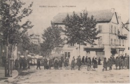 CPA Rignac - La Procession (belle Animation) - Other Municipalities