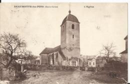 CPA - 70 - Haute Saone - Beaumotte Les Pins - L' Eglise - Francia