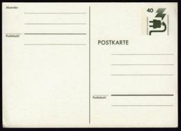 Germany 1977 Jederzeit Sicherheit Postal Stationery Postcard Postkarte / Green 40 Pf - [7] République Fédérale