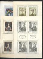 O-280-CZECHOSLOVAKIA - EMISION PRAGUE  GALERIA 1966 - CAT. MICHEL NUMMER TL 1668-1671  MNH** - Blocks & Kleinbögen