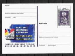 Joint/Gemeinschaftsausgabe/Congiunta Germany, Czech Rep, Hungary, Poland, Vatican, GERMAN POSTAL STATIONARY : Adalbert - Joint Issues