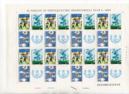 ITALIA - 1977 - Foglietto Da 24 Valori - 19^ Giornata Del Francobollo - Nuovo ** - (FDC17932) - Giornata Del Francobollo