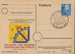 10a Görlitz Industrie Gewerbe-Ausstellung Zwei-Jahres-Plan 1949 - Friedrich Engels        [KE-GR 47] - [6] République Démocratique