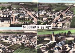 18   Saint-Germain-du-puy    Vue Générale Aérienne   Vue D'ensemble   Le Bourg   CPSM - Autres Communes