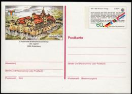 Germany 1982 / Romische Vertrage, Roman Treaty / Europa / Philatelic Exhibition Najubria 1983 / Postal Stationery 60 Pf - [7] République Fédérale