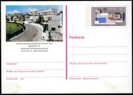 Germany 1987 / Europa / Philatelic Exhibition SUDPOSTA / Postal Stationery 60 Pf - [7] République Fédérale
