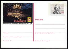 Germany 1987 / Christoph Willibald Gluck / Philatelic Exhibition Philatelia Koln / Postal Stationery 60 Pf - [7] République Fédérale