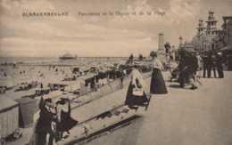 BELGIQUE , Cpa BLANKENBERGHE , Panorama De La Digue Et De La Plage (11286) - Blankenberge