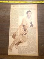 1932 1933 M BUFFON MARTIN PLAA LE TENNIS - Vieux Papiers