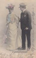 AK Das Schönste Sucht Er Auf Den Fluren - Liebespaar Blumen - Künstlerkarte - Hall Nach Hechingen - 1904 (44757) - Paare