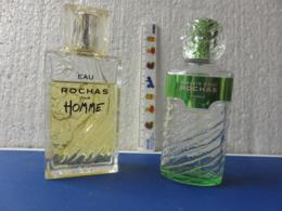 1  Flacon Vide Homme, 1 Vapo   Rochas - Bottles (empty)