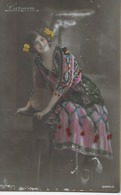 """CPSM -  FEMMES -Jolie Carte Fantaisie  """"Carmen"""". - Donne"""