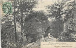 70 Haute Saone Aillevillers Pierre Dela Carrode Ou Pierre De La Sorciere - Other Municipalities