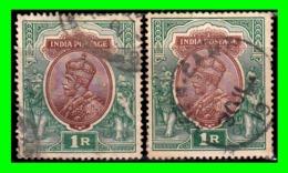 INDIA SELLO USADO AÑO 1906 GEORGE V - Italien