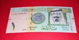 Saudi Arabia 1 Riyal 2012 (2013) P-31c Mint UNC Uncirculated Banknotes - Saudi Arabia