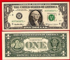 STAR NOTE USA $1 Dollar Bill 1999 - ST LOUIS, Crisp, Uncirculated - Federal Reserve Notes (1928-...)