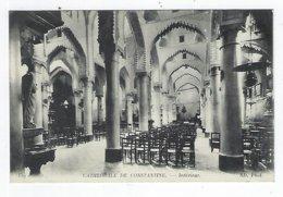 CPA - Algérie - Constantine - Cathédrale De Constantine - Intérieur - Constantine