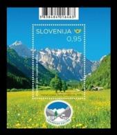 Slovenia 2019 Mih. 1383 (Bl.119) Logar Valley National Park MNH ** - Slovenia