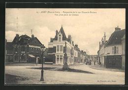 CPA Anet, Perspective De La Rue Diane-de-Poitiers, Vue Prise Place Du Chateau - Non Classificati