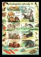 Czech Republic 2019 Mih. 1036/39 (Bl.76) Fauna. Zoos (IV) MNH ** - Tschechische Republik