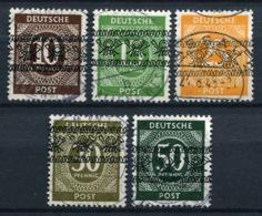 44470) ALL. BESETZUNG - Lot Gestempelt Aus 1948, 62.- € - Zone Anglo-Américaine