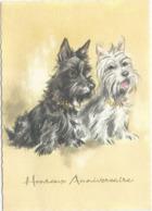 10x15   2  Chiens     Illustrateur - Cani