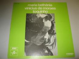 VINYLE MARIA BETHANIA / VINICIUS DE MORAES / TOQUINHO 33 T TROVA ARGENTINE / COLUMBIA / EMI (1978) - World Music