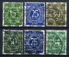 44479) ALL. BESETZUNG - Lot Gestempelt Aus 1948, 154.- € - Bizone