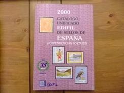 CATALOGO ESPAÑA EDIFIL CATALOGUE ESPAGNE 2000 - Spagna