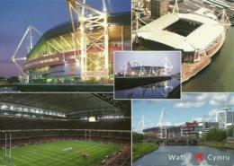 STADIUM POSTCARD STADIO STADI STADION STADE CARDIFF - Stadiums