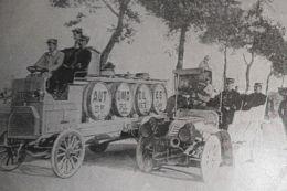 1910 BERLIET LE CAMION MILITAIRE MANOEUVRES DE LANGRES USINE LYON MONPLAISIR 69 PUBLICITE ANCIENNE AGENT TARD CIE - Publicités