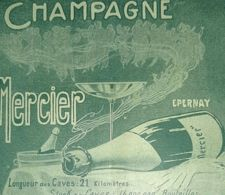1897 MERCIER CHAMPAGNE EPERNAY PUBLICITE ANCIENNE ALCOOL ANTIQUE ADVERTISING PUBBLICITA - Advertising